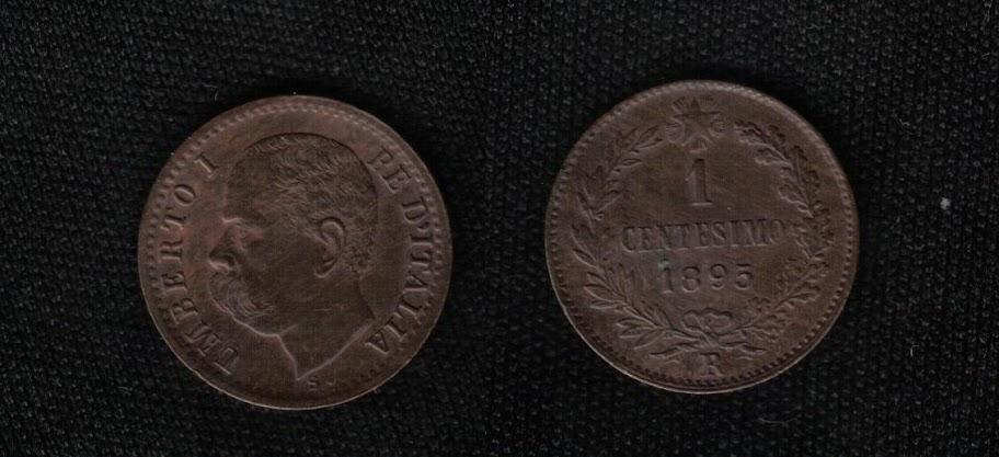 Mi colección de monedas italianas. 1%20centesimo%201895%20R