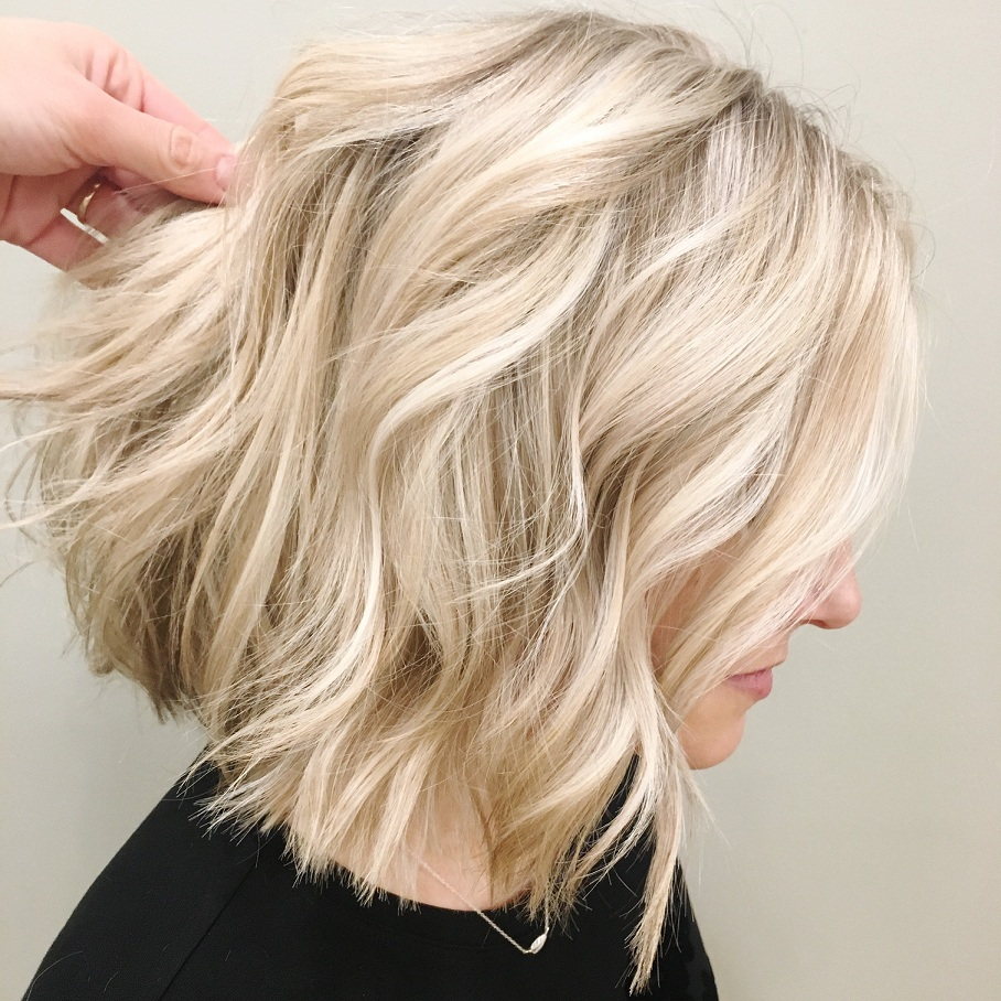 Medium Bob Hairstyles For Oval faces 2018 1