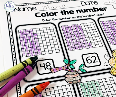 Use a variety of activities when teaching base ten in the classroom.  My favorite are from Mega Math PRactice.