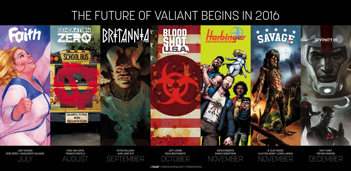 FUTURE OF VALIANT 000 POSTER