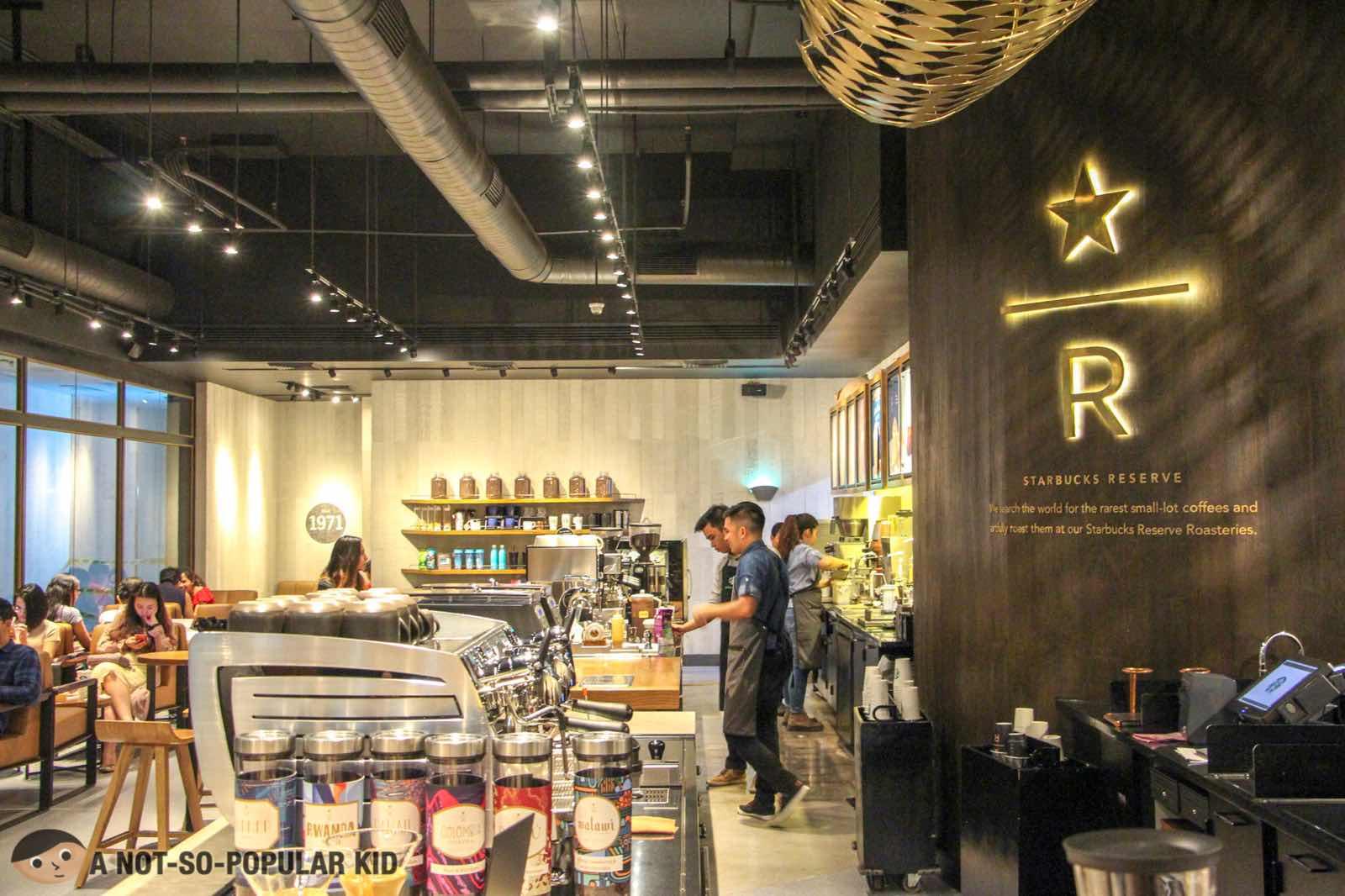 Starbucks Reserve in Valero, Makati