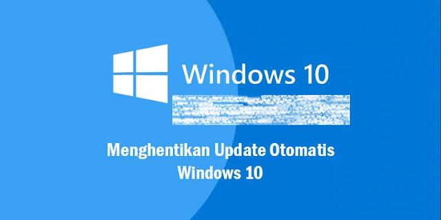 Nonaktifkan Update Service windows 10