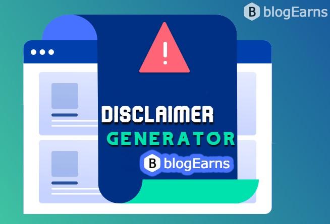 Disclaimer Generator for Websites for Blogs