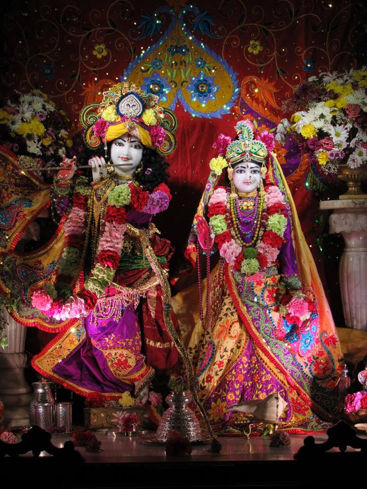 ISKCON Chicago Deity Darshan 22 Jan 2016  (3)