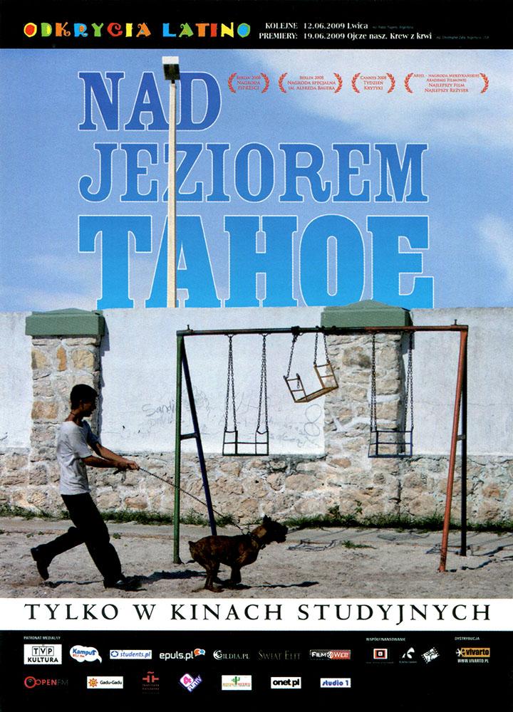 Ulotka filmu 'Nad Jeziorem Tahoe (przód)'