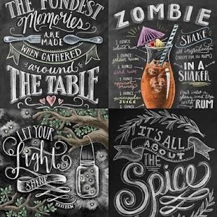 chalkboard art how to make it pop