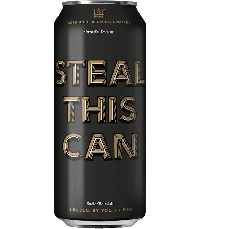 Logo of Lord Hobo Brewing Steal This Can