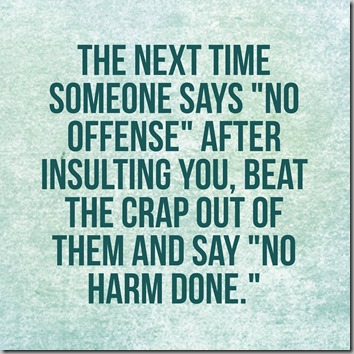 no offense-no harm