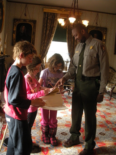 at President Taft's House