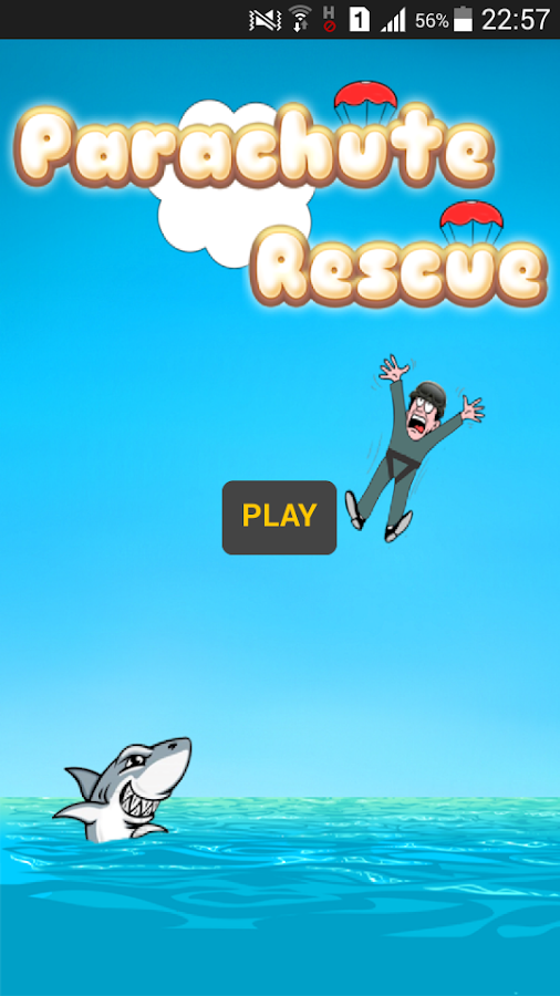 Parachute Rescue- screenshot