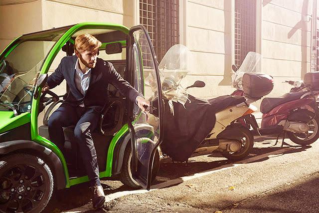 *Birò Estrima:零耗油零汙染,輕巧容易駕駛的環保概念車! 2