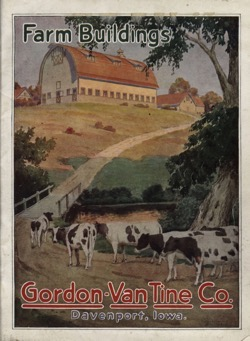 Historical Technology Books: Farm buildings by Gordon-Van Tine Co. - 2 in a series