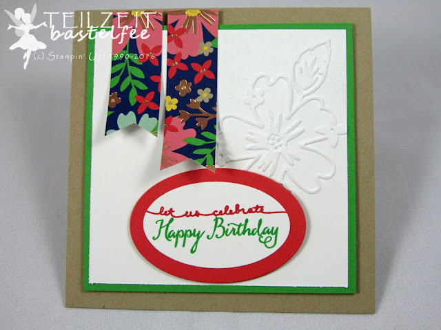 Stampin' Up! - In{k}spire_me #259, Für Lieblingsmenschen, Love&Affection, DP Muster für dich, DSP Affectionately Yours, Embossing Folder Floral Affection, Prägeform Bezaubernde Blüten, Balloon Celebration