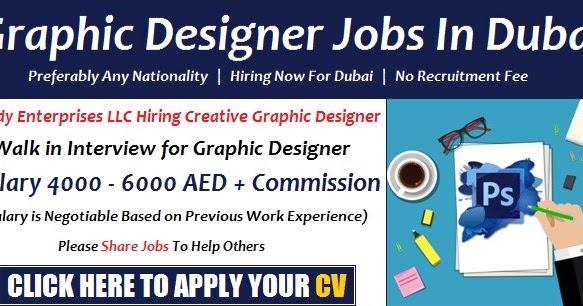 Graphic Designer Job Salary In Dubai