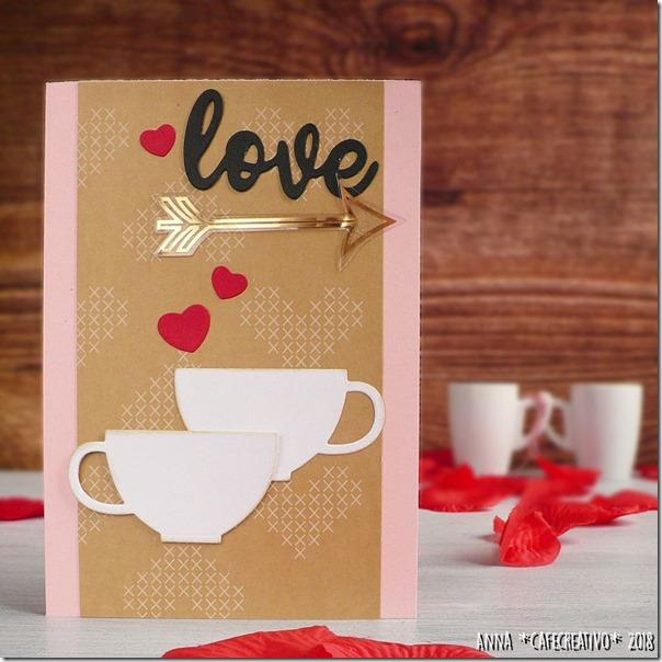 San Valentino: biglietto Caffè per due