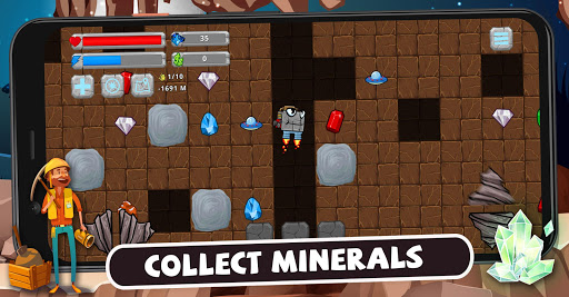 Digger Machine: dig and find minerals 2.7.0 screenshots 1