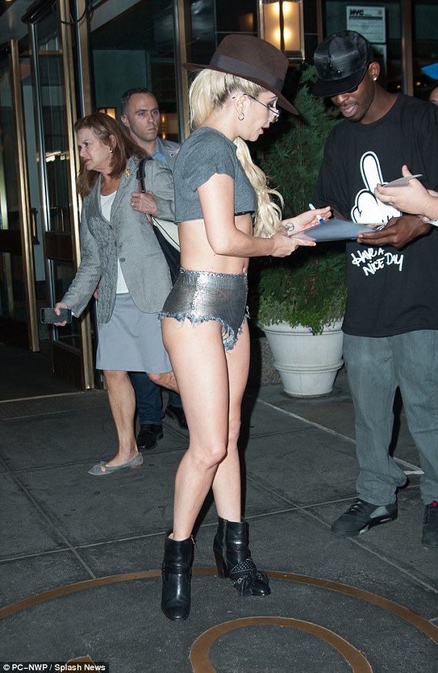 Lady Gaga Steps Out In Daring Outfit