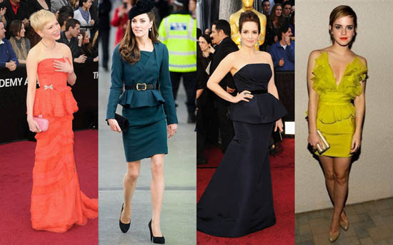 THE BEST PEPLUM DRESS AND OUTFIT STYLES FOR LADIES IN 2018 2