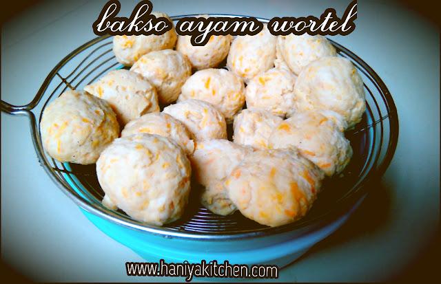 resep bakso ayam wortel enak dan mudah