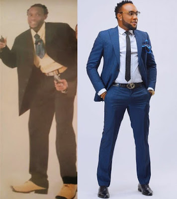 Image result for Kcee Shares Before And After Photos