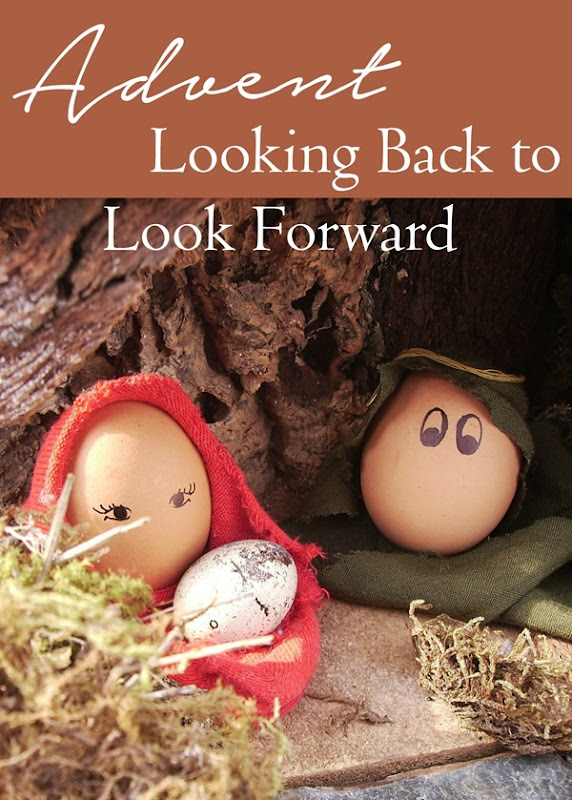 Advent is a season of looking backward in order to remind ourselves what we have to look forward to! #Christmas #Jesus