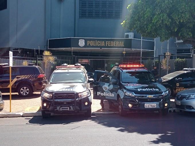 Polícia Federal e Militar cumprem 20 mandados de busca e prisão contra suspeitos no mega-assalto em Araçatuba