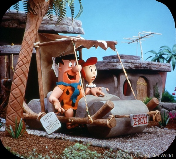 View-Master The Flintstones (B514) Reel 3 Scene 2