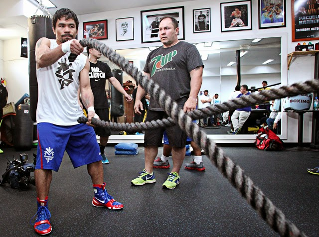 Justin Fortune, Manny Pacquiao's Conditioning Coach (VIDEO)