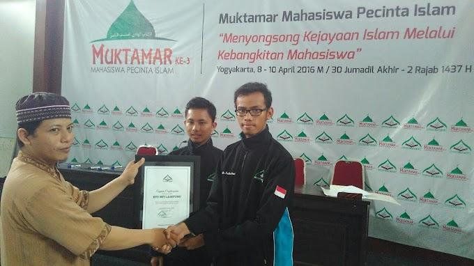 Tim Media MPI Lampung Raih MPI Award