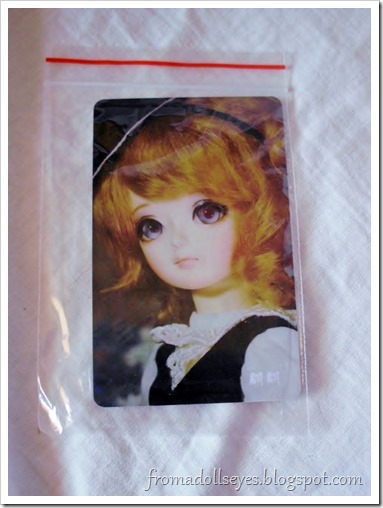 New Arrival: A Mystic Kids Doll Review: Mystic Kids Vanetta card.