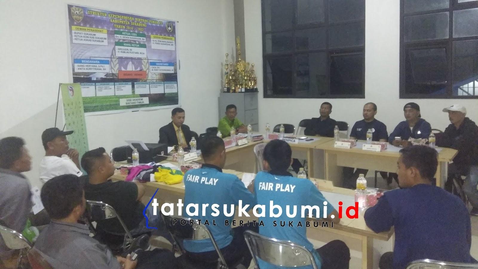 Kesebelasan Bintang Timur FC Sukabumi Optimis Tundukan Benpica Karawang di Liga 3 Jabar