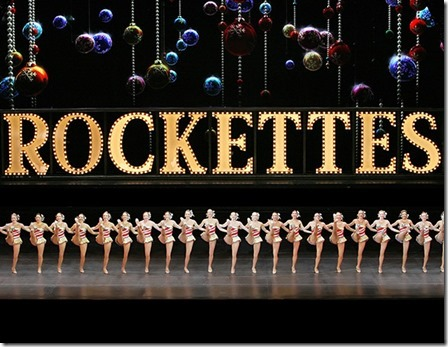 The Rockettes in the Radio City Christmas Spectacular