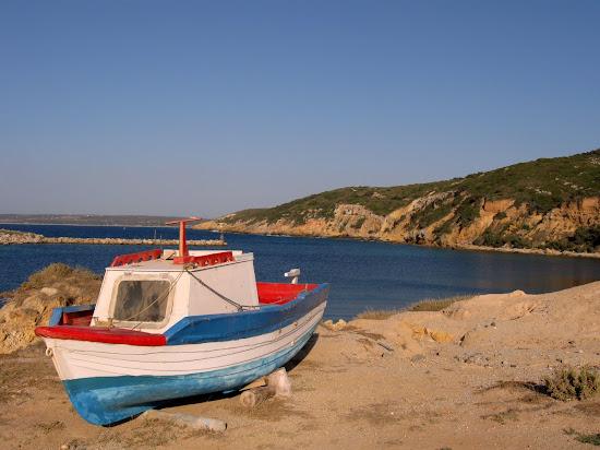 zaciszna plaża limnionas