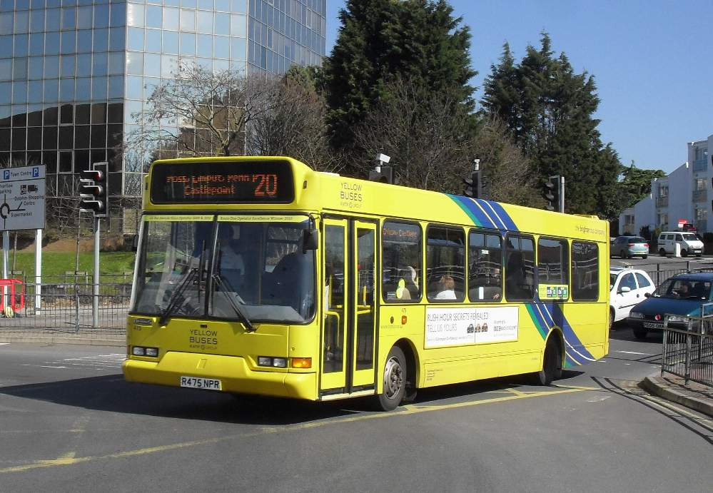 Southern England Bus Scene March 2011