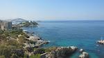 Gorgeous view of Kusadasi as we drove the coast route to Ephesus