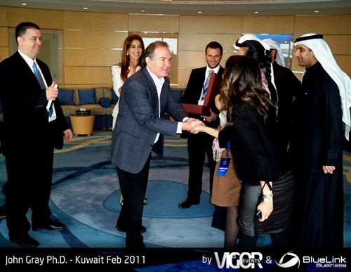 John Gray Phd Kuwait Feb 2011 09, Dr Gray