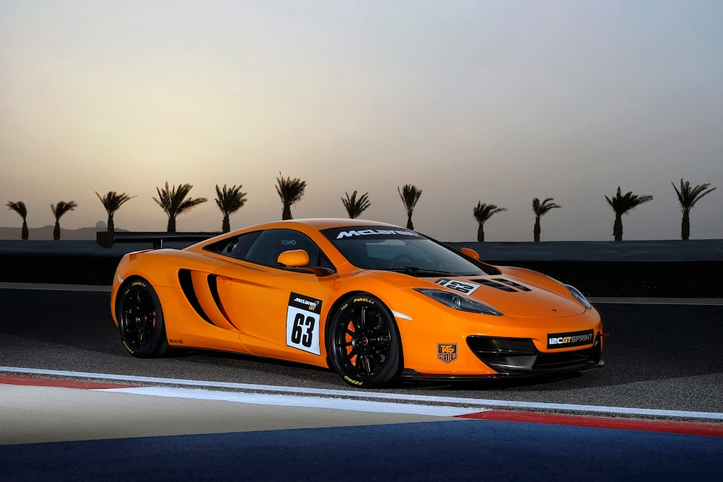 McLaren 12C GT Sprint 1