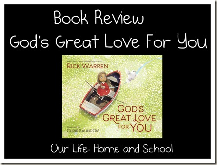 God's Great Love For You - Book Review