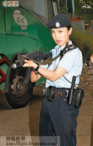 朱千雪開槍時口震震,她表示未試過對準目標開槍。
