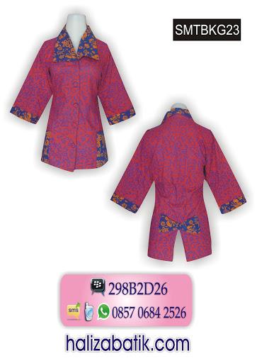 baju batik atasan, model busana, gambar batik