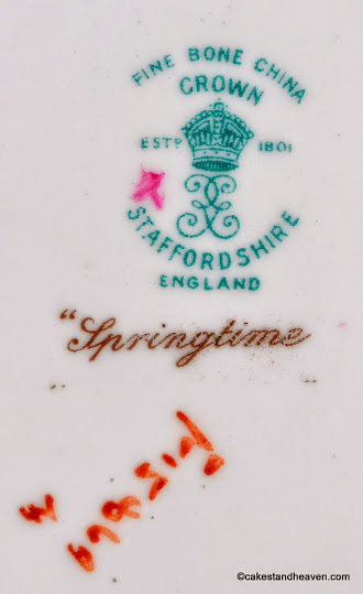 1930s Crown Staffordshire Backstamp