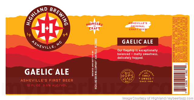 Highland Brewing Rebranding Continues With Oatmeal Porter, Southern Sixer, Black Mocha Stout, Gaelic Ale, St. Terese's & AVL IPA
