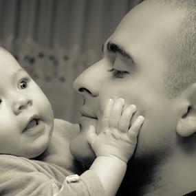 sunshine&dady by Iana Udrea - People Family ( love, dady, dady.eyes, baby, man, filling )
