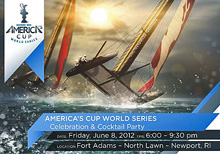 America's Cup 45 catamaran sailing series