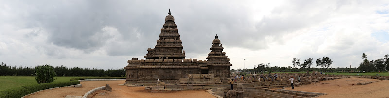 Shore Temple panorama