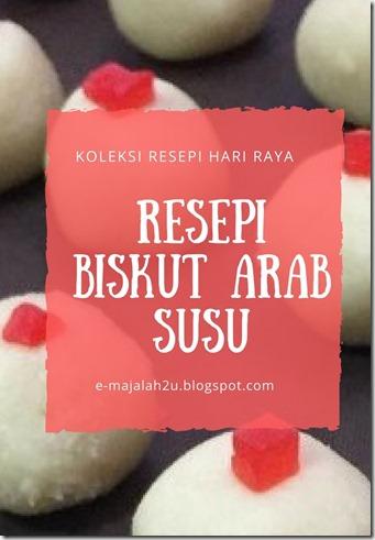 resepi-biskut-arab-susu-sukatan-cawan-sedap-mudah