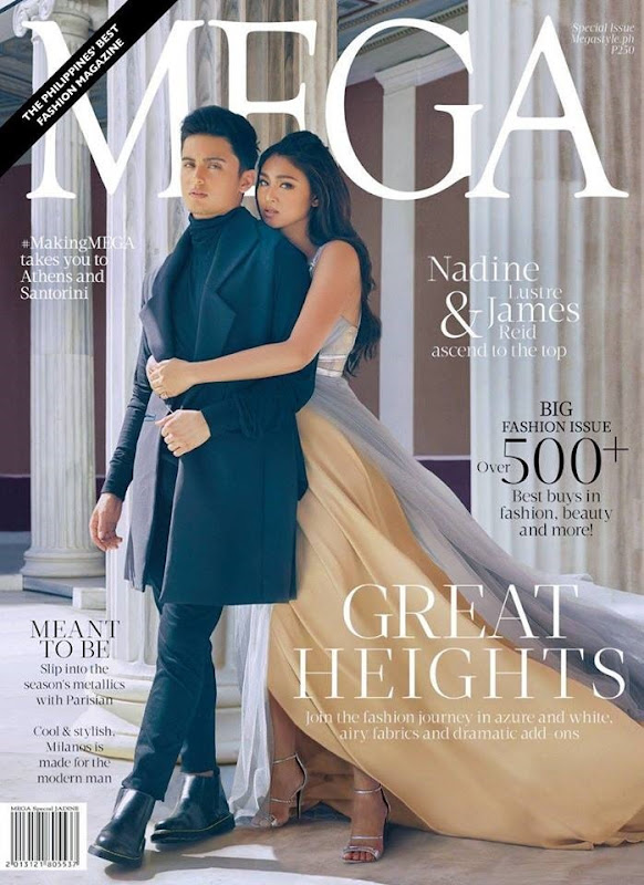 JaDine for Mega Sept 2016