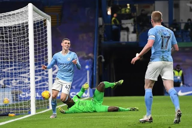 Man City Eases Past Woeful Chelsea At Stamford Bridge