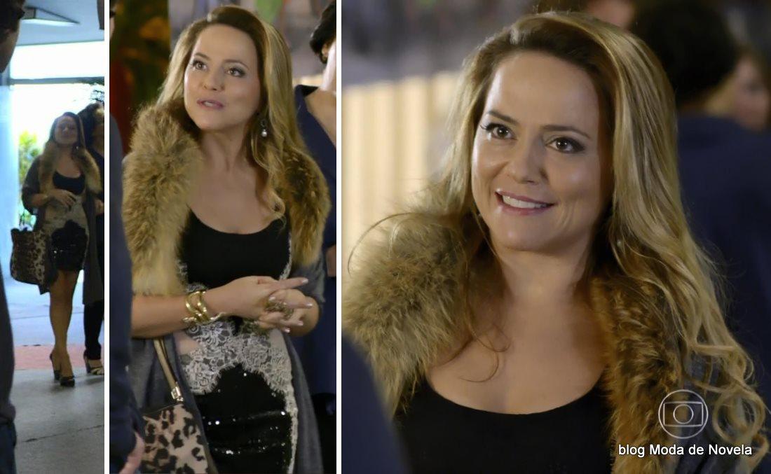 moda da novela Em Família - look da Shirley dia 25 de junho