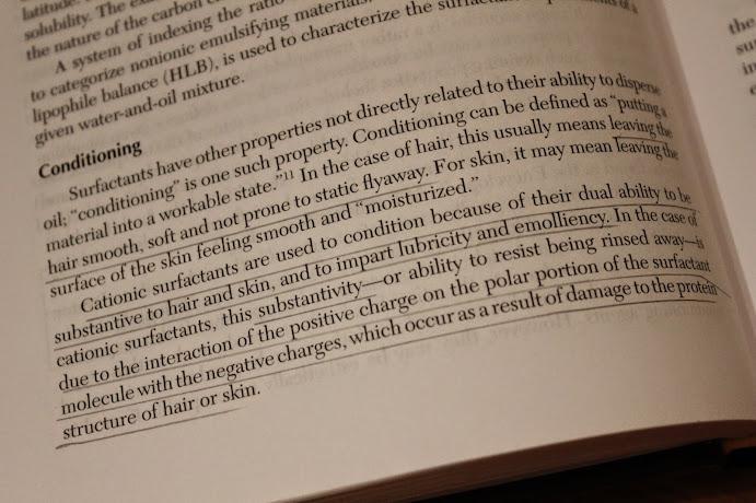 R. Schuller & P. Romanowski: Beginning COsmetic Chemistry, sivu 114